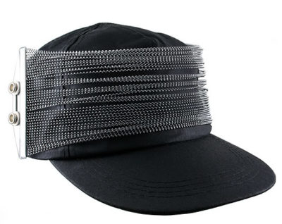 black cotton baseball cap HI TEK