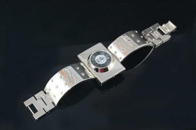 unisex wrist watch post modern Cyber Punk Hi Tek London
