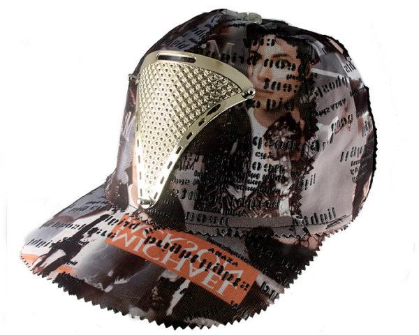 Michael Jackson print baseball cap HI TEK