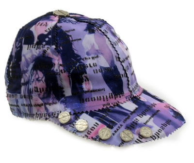 Michael Jackson print baseball cap HI TEK unusual unique
