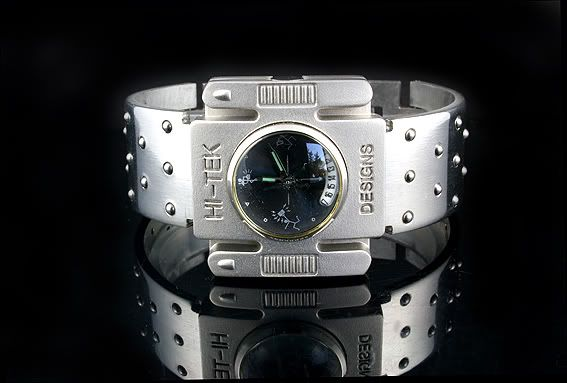 square wrist watch