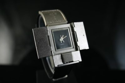 vintage unsex mens watch Hi Tek London Alexander Cyber Goth style unusual