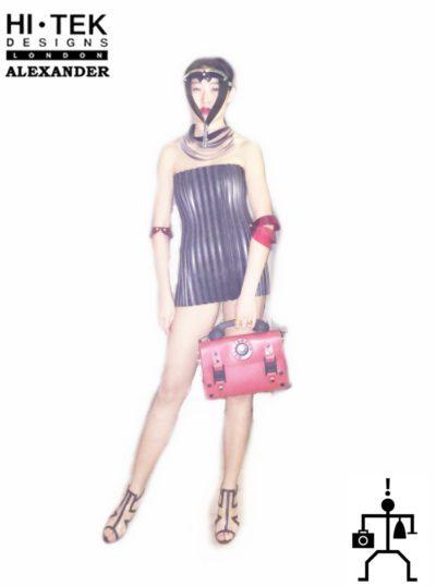 Hi Tek  women's dancewear cosplay dress unique steampunk gothic overbust,corset,sci fi costume,cyberpunk,futuristic clothing