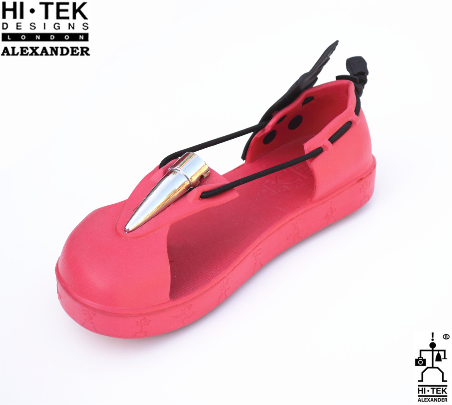 red sandals for men