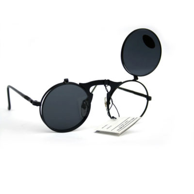 round flip up Steampunk sunglasses
