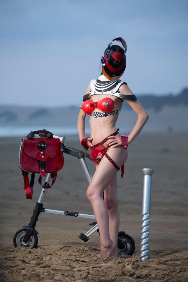 women's dancewear cosplay unique steampunk gothic overbust corset sci fi costume cyberpunk fetish futuristic clothing