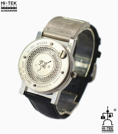 vintage unisex watch Cyber Goth Punk unusual design Hi Tek