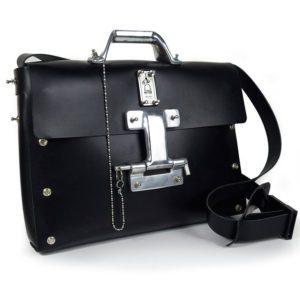 black shoulder bag for men