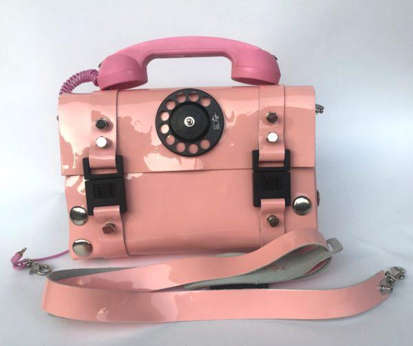 pink telephone bag