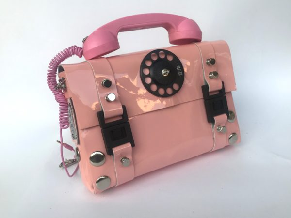 pink telephone bag