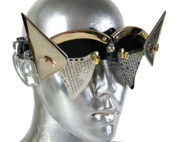 metal eyewear for artists