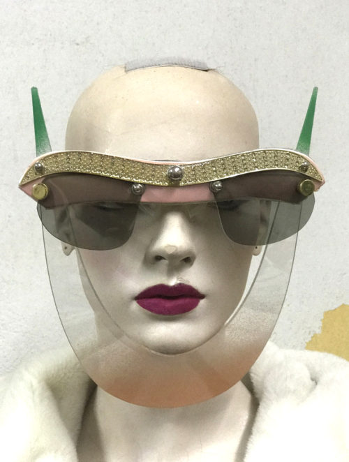 eyewear with horns