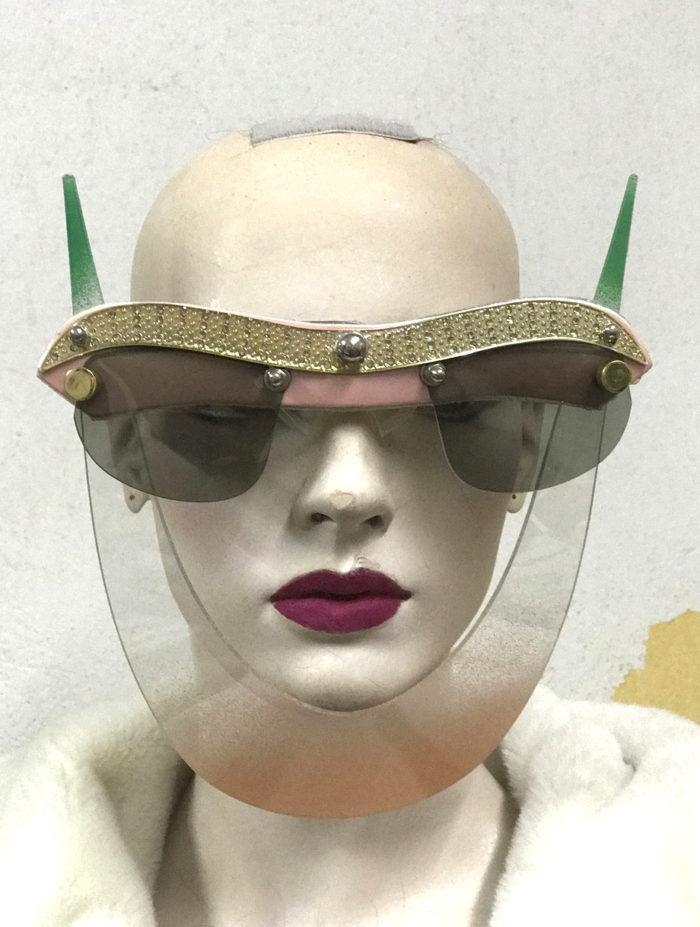 eyewear with horns