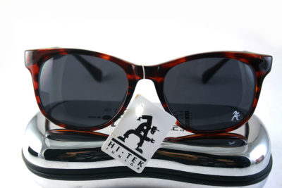 Retro Square red tortoise sunglasses 1990s Wayfarer style HT-92112