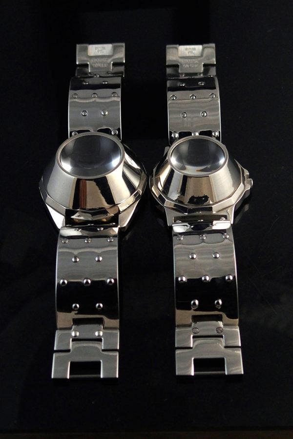 Unisex wrist watch Cyber Punk Cyber Goth style statement watch vintage 2 sizes