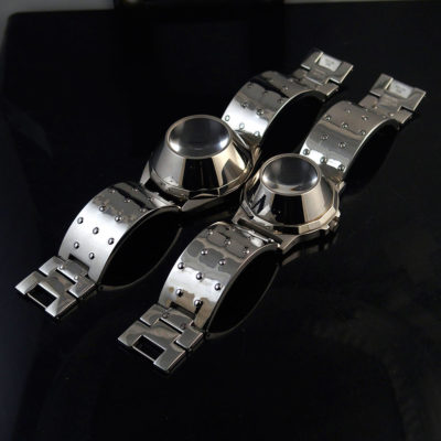 Unisex wrist watch Cyber Punk Cyber Goth style statement watch vintage 2 sizes