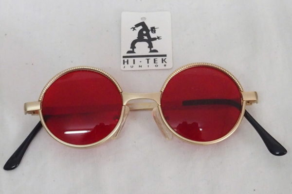 4b09c717be round silver sunglasses red lens