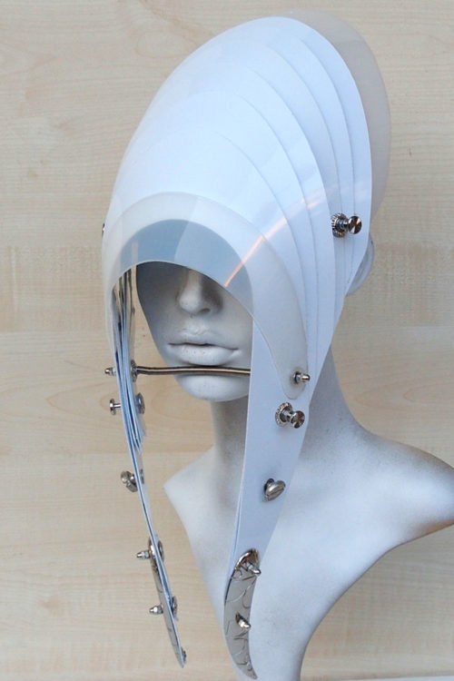 all white head wear