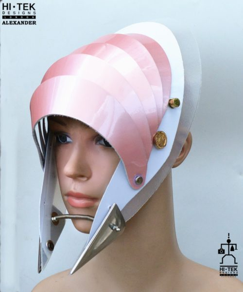 unusual head wear