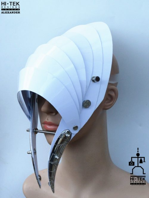 white helmet hat