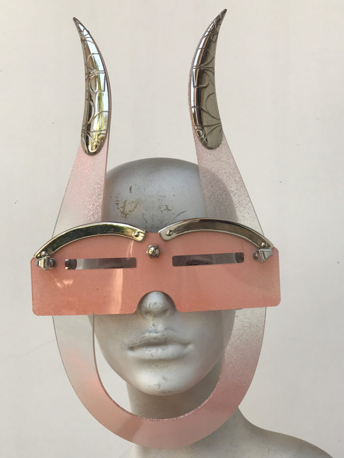 mask with horns
