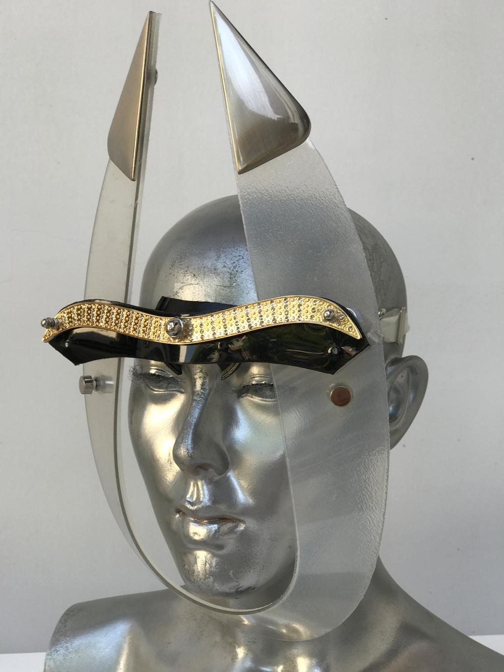 mask for Burning Man festival