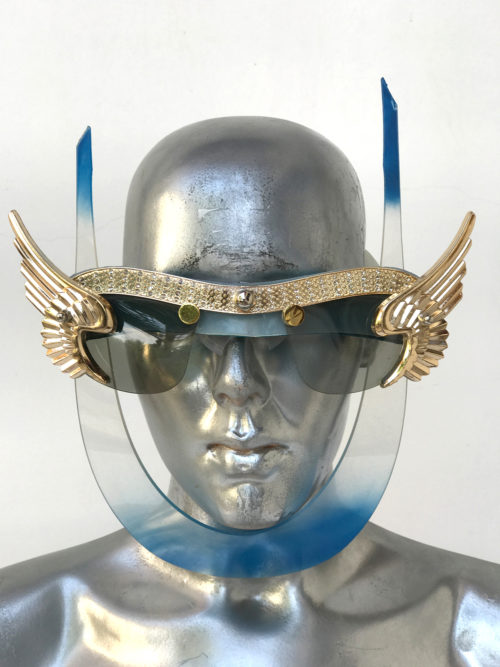 mask with wings