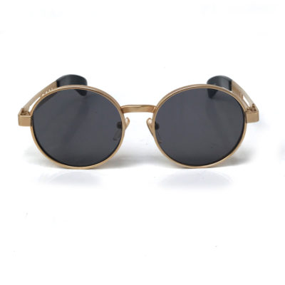 gold steampunk sunglasses
