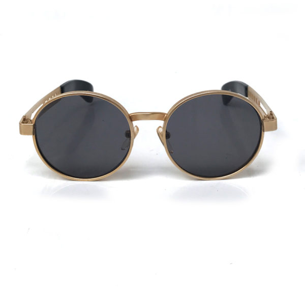gold steampunk sunglasses