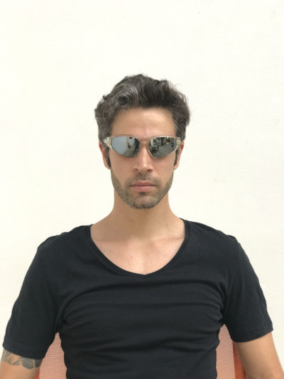 clear mirror lens mens sunglasses