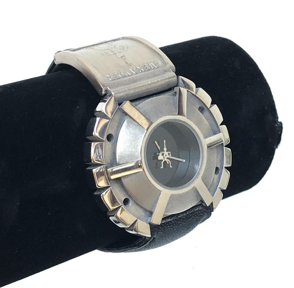 Cyberpunk wrist watch