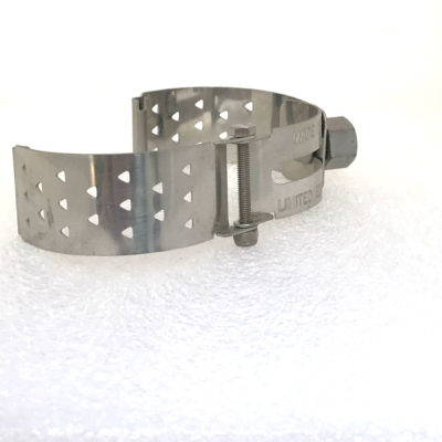 Ht Tek Alexander stainless steel watch strap unusual unique triangles