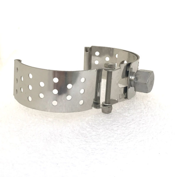 Ht Tek Alexander stainless steel watch strap unusual unique dots
