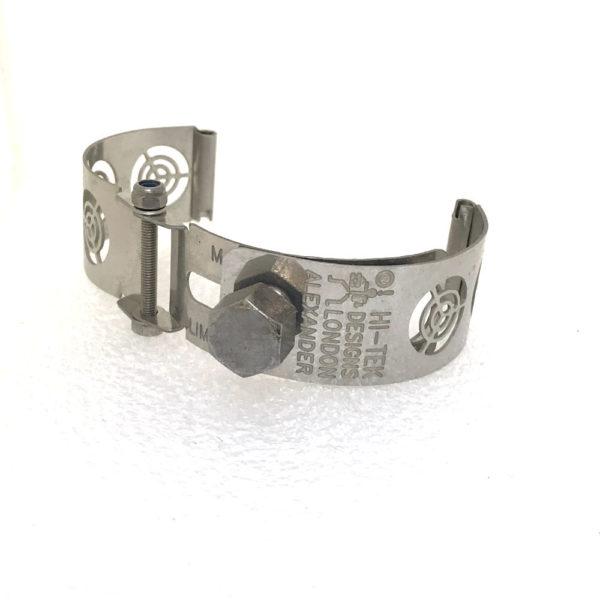 Ht Tek Alexander stainless steel watch strap unusual unique target
