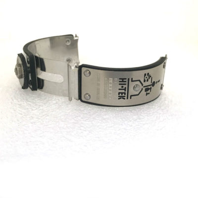 Hi Tek Alexander stainless steel watch strap unusual unique
