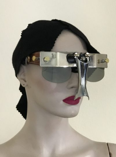 unusual eyewear mask with nose shield Hi Tek