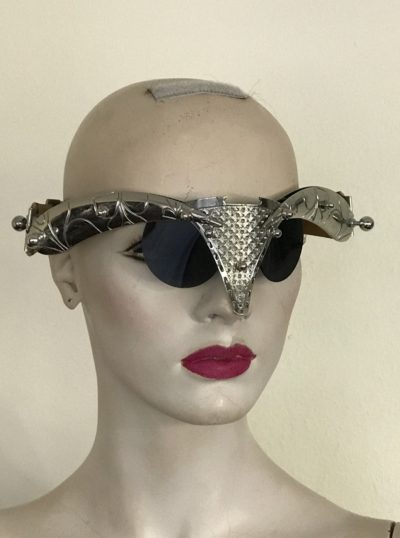 unusual eyewear for  styling video filming Hi Tek