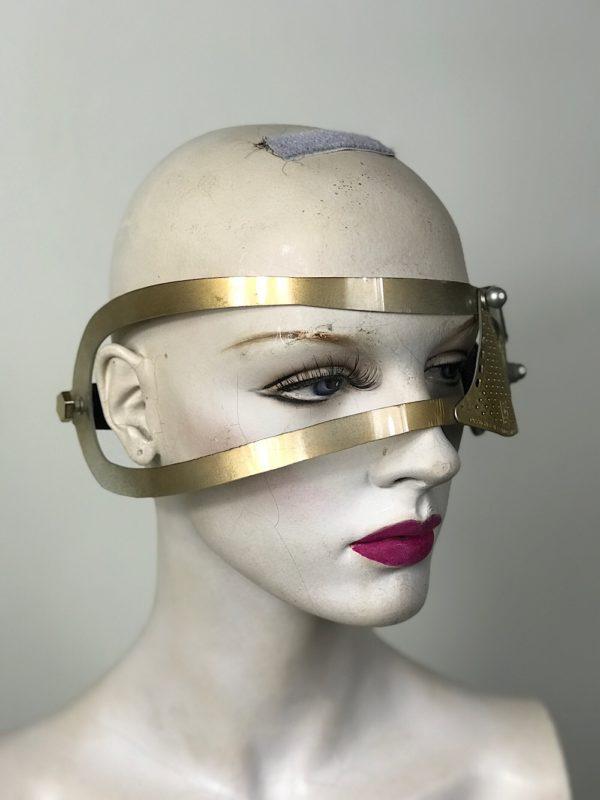 modern steampunk eye patch monocle facial accessory Hi Tek