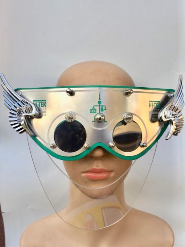 unusual eyewear with wings