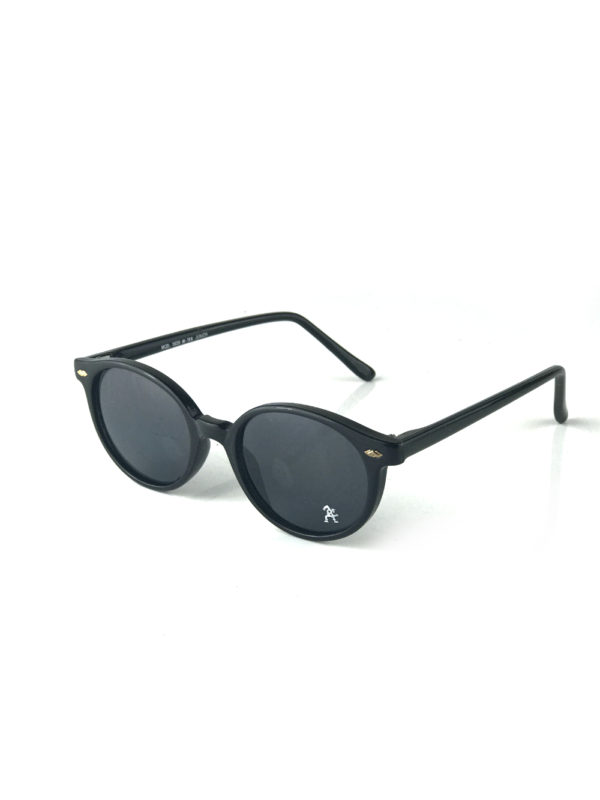 black round vintage retro sunglasses mod 5659 Hi Tek Junior