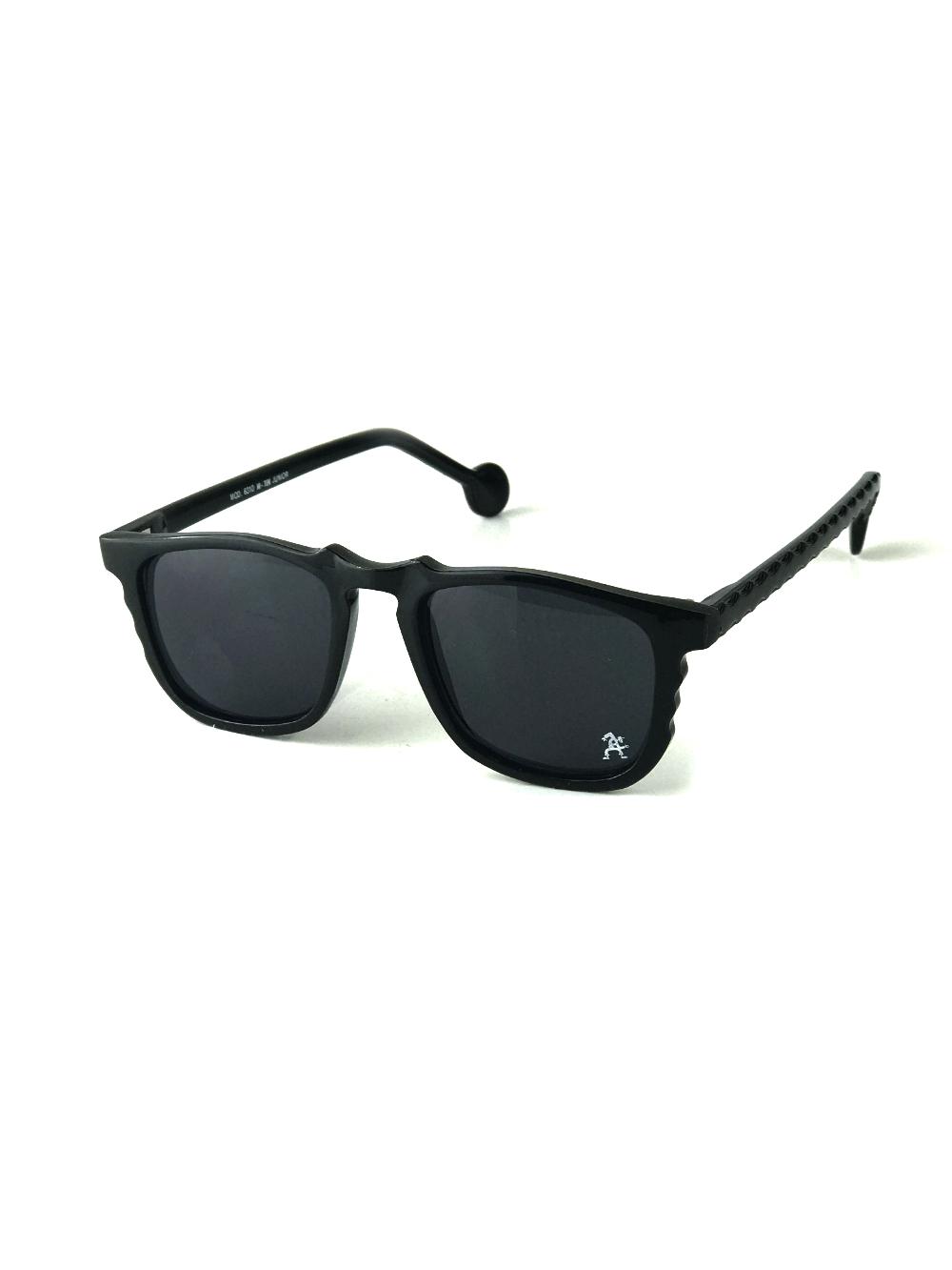 black square vintage retro sunglasses Wayfarer style mod6310 Hi Tek Junior