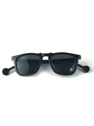 black square vintage retro sunglasses Wayfarer style mod6310 Hi Tek Junior
