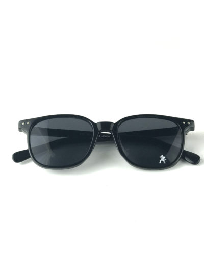 black square vintage retro sunglasses Wayfarer style mod9133 Hi Tek Junior