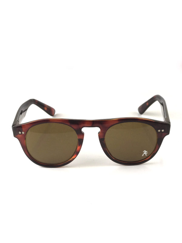 round tortoise brown sunglasses retro wayfarer mod9296 Hi Tek Junior