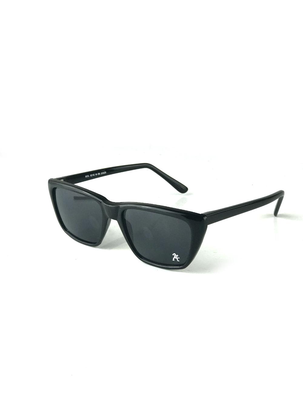 black square vintage retro sunglasses Wayfarer style mod92142 Hi Tek Junior