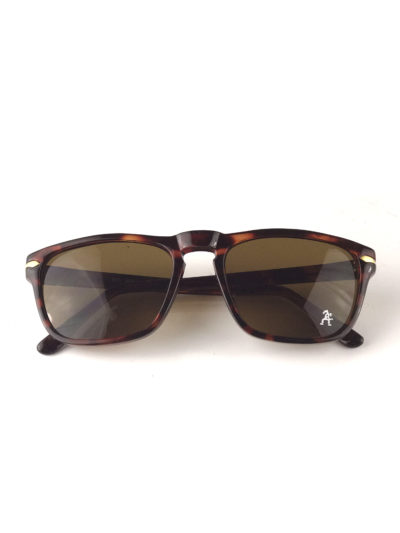 tortoise square vintage retro sunglasses brown lens mod5632 Hi Tek Junior