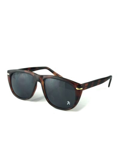 tortoise square rectangle vintage retro sunglasses mod0648 Hi Tek Junior