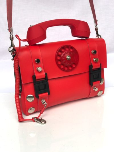 red telephone bag