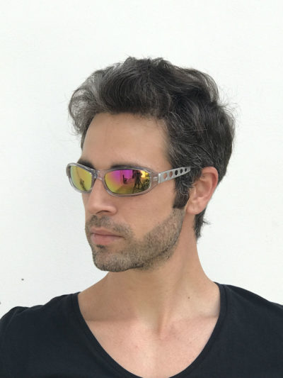 goggle sunglasses pink lenses