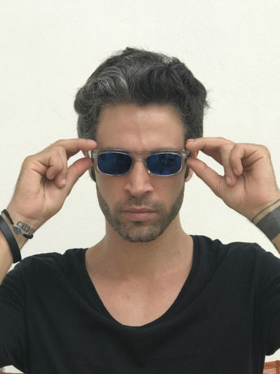 clear rectangular sunglasses